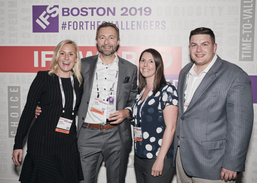 Novacura IFS Channel Partner of the Year 2019