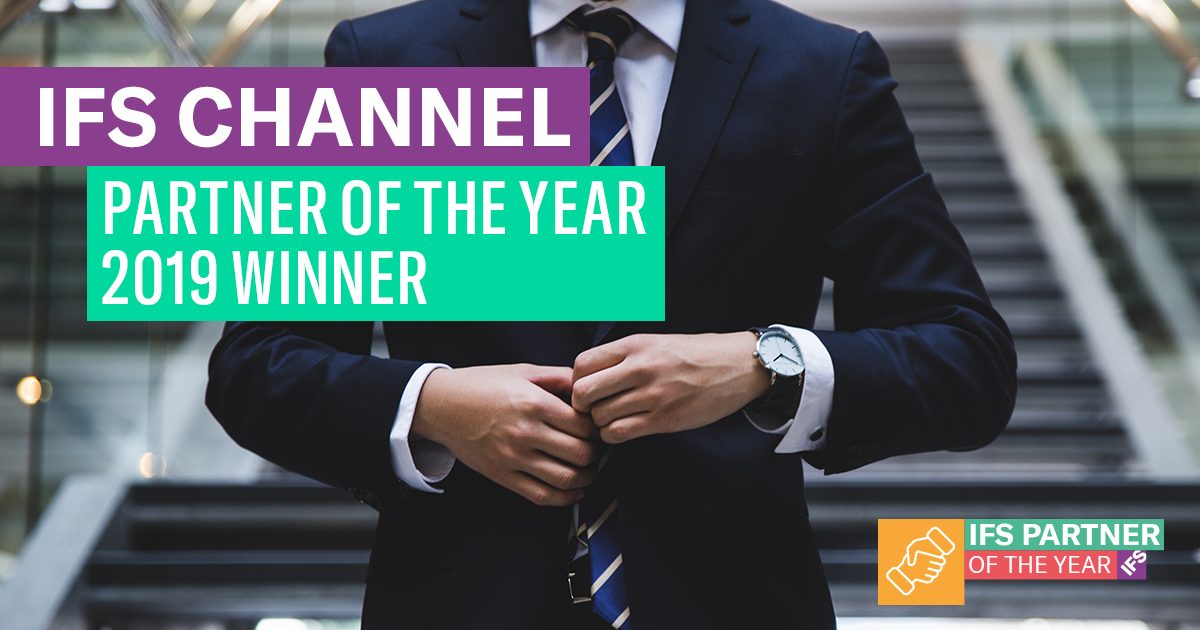 IFS Channel Partner of the Year 2019 Winner Web Banner