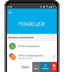 Novacura Flow Maintenance a