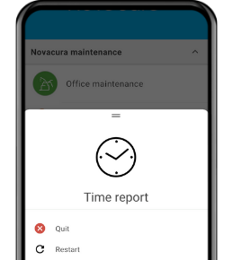 Novacura Flow Time Report