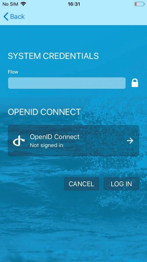 Open ID Connect Login in Flow