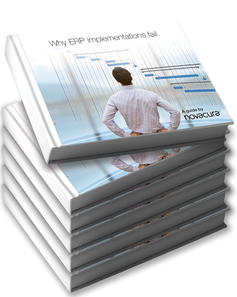 Stack-of-Novacura-ERP-guides