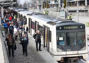 T-banedrift Sporveien. Photo:Sporveien