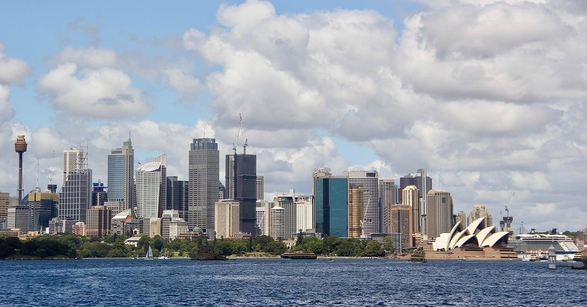 Skyline Sydney Australia