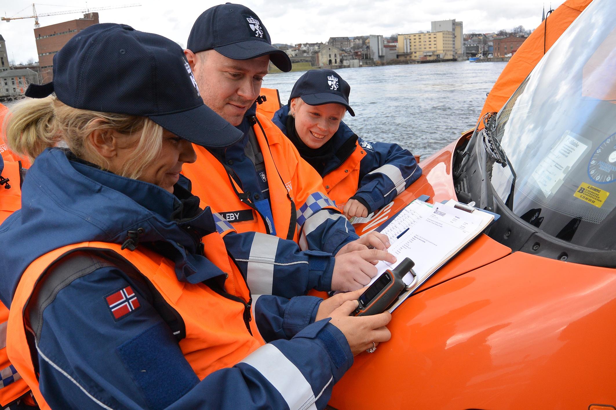 Sivilforsvaret uses Novacura Flow, Photo:DSB
